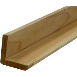Cornière / Baguette d'angle de finition Douglas Naturel 45x45mm 3m