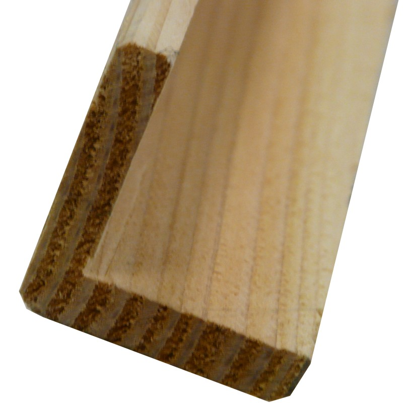 corniere baguette dangle de finition douglas naturel