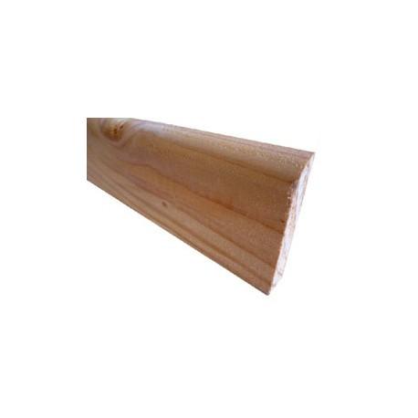Plinthe 22x70mm Choix 1 Douglas Naturel 3m