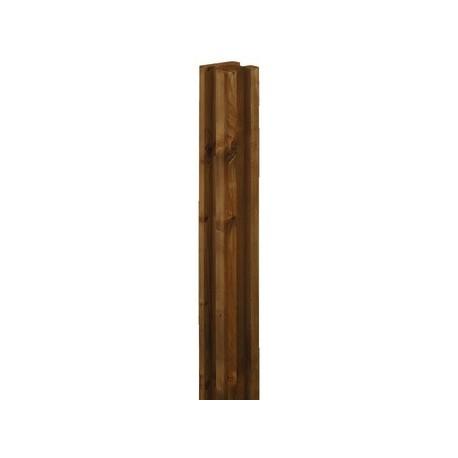 poteau rainur 3r pin autoclave classe 4 69x69mm sud bois terrasse bois discount lame. Black Bedroom Furniture Sets. Home Design Ideas
