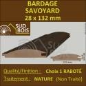 ► Lame de Bardage Bois Savoyard 28x132 Douglas Naturel 1er Choix Prix/m²