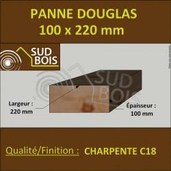 ↕ Panne / Poutre 100x220 Douglas prix au mètre