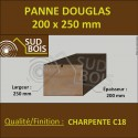 ↕ Panne / Poutre 200x250 Douglas prix au mètre