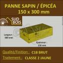* Panne 150x300 Sapin/Épicéa Classe 2 Jaune (à la palette)