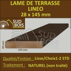 Lame Terrasse Bois Douglas LINÉO 28x145mm