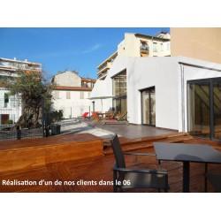 ► Lame de Terrasse Bois PRESTIGE 34x190 Douglas Autoclave Marron 2nd Choix Prix/m²