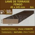 Lame Terrasse FENGO 45X145mm Douglas Naturel Choix 1 en 4m
