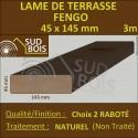 Lame Terrasse 45X145mm FENGO Douglas Naturel Choix 2 en 3m
