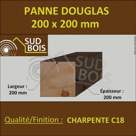 Panne / Poutre / Poteau 200x200 Douglas prix au mètre