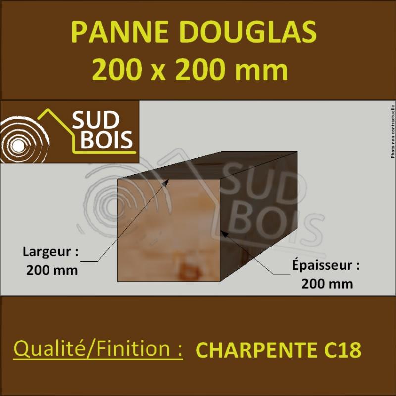 Panne Poutre Poteau 200x200 Douglas Prix Au Mètre Sud Bois