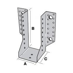Sabot de Solive / Charpente à ailes extérieures 63 x 136 x 2 AE 335