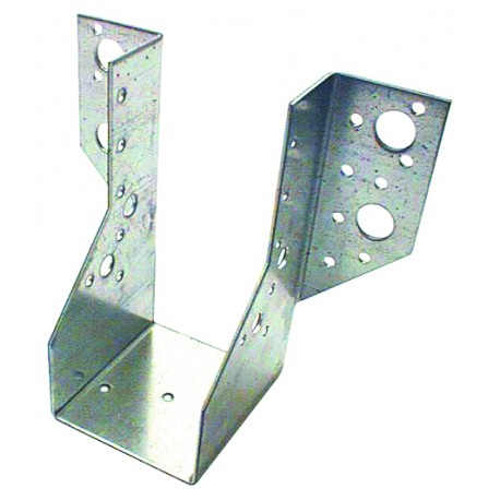 Sabot de Solive / Charpente à ailes extérieures 100x170 x 2 mm AE 440