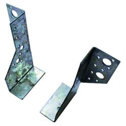 Sabot de Solive / Charpente à ailes extérieures 2 éléments 75x152.5