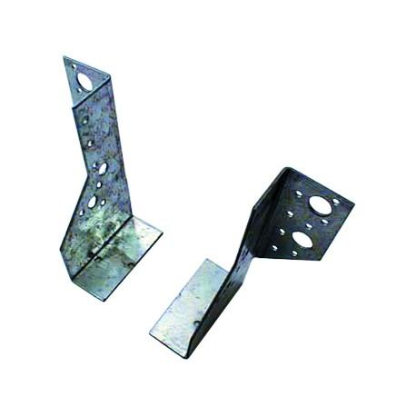 Sabot de Solive / Charpente à ailes extérieures 2 éléments 63x136