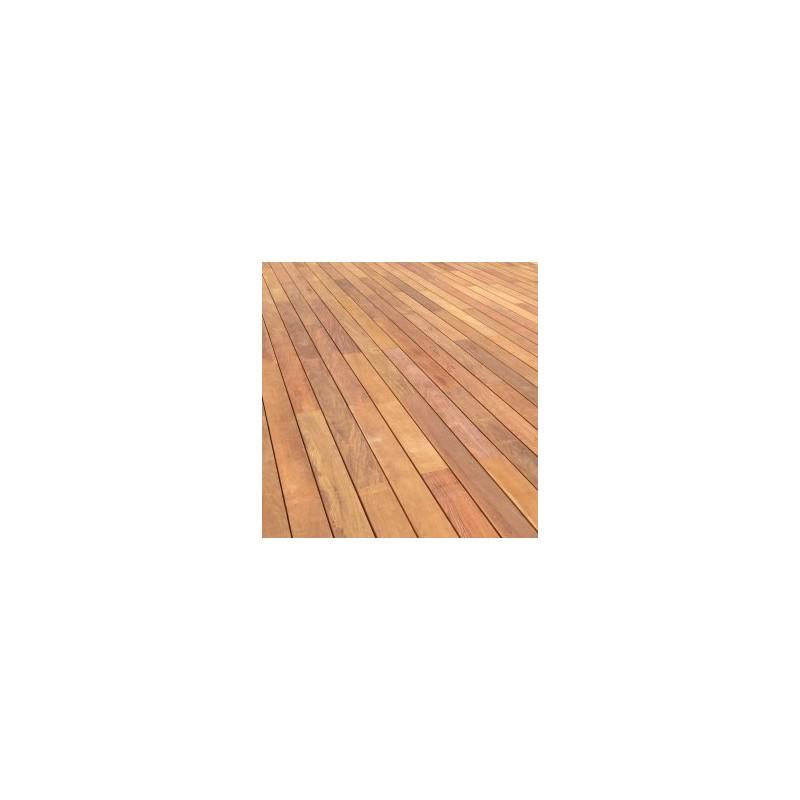 lame de terrasse bois exotique ipe lisse 2 faces 20x140. Black Bedroom Furniture Sets. Home Design Ideas