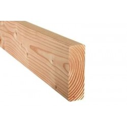 Ossature Bois Abouté 45x220 Douglas Naturel Sec Raboté Qualité C24 en 6.50m