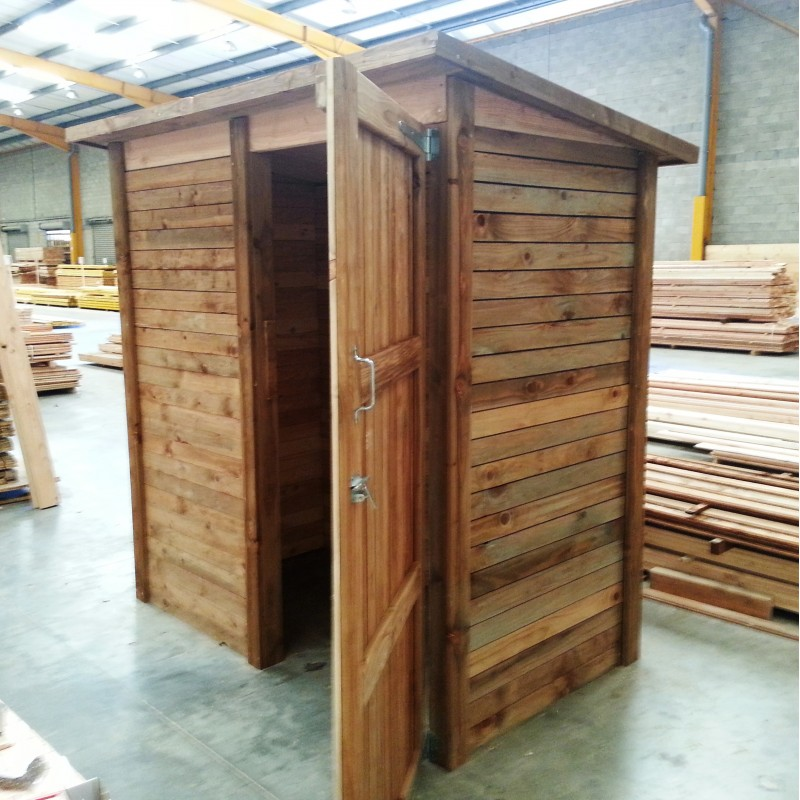 abri de jardin en bois douglas naturel 2m robuste facile. Black Bedroom Furniture Sets. Home Design Ideas
