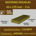 * Palette de 30 Chevrons 63x175 Douglas Naturel Brut 3M