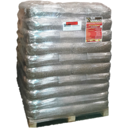 Palette de 70 Sacs de 15 kg soit 1.050 Tonne de Pellets de Bois DIN + Sud' Granulés Livraison Gratuite FRANCE
