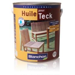 ♦ Huile pour Teck Blanchon