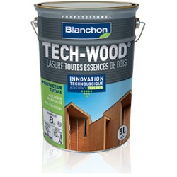 ♦ Lasure Bois TECH-WOOD Blanchon