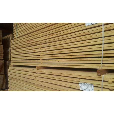 Planche Sapin/Épicéa 27x150mm 3m