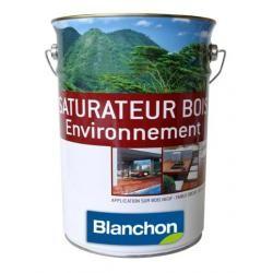 SATURATEUR BOIS BLANCHON QUALITÉ ENVIRONNEMENT