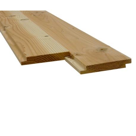 Plancher/Sous toiture Mi-Bois Douglas Choix 2 22x135mm 3m