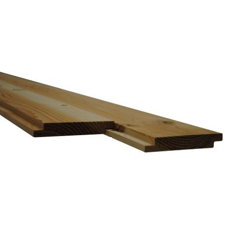 Plancher/Sous Toiture Mi-Bois Douglas Choix 2 22x135mm 2m