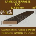 ► Lame de Terrasse Bois ECO 21x95 Douglas Naturel 1er Choix Prix/m²