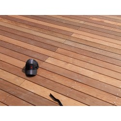 PROMO : Lame de Terrasse Bois Exotique ITAUBA Lisse 21x145 en 1.55m