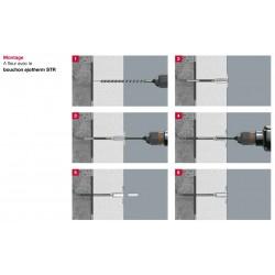 Cheville de fixation Isolant Thermique Extérieur- Ejotherm STR H140