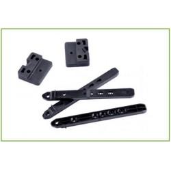 FIXEGO : Fixation Invisible pour lames de terrasse de 19 à 25mm d'ép