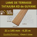 ♦ PROMO : Lame de Terrasse Exotique Tatajuba KD 21x145 en 4.25m