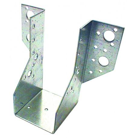 Sabot de Solive / Charpente à Ailes Extérieures 64x128 x 2 mm AE 320