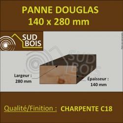 ↕ Panne / Poutre 140x280 Douglas Charpente C18 prix au mètre
