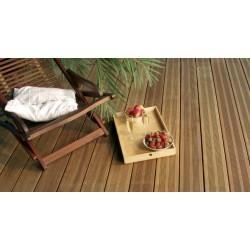 * ◙ Lame de Terrasse IPE Striée (2 Peignes ou 6 V) 20x140 ou 21x145 Prix au m²
