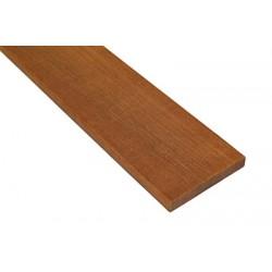 * Lame de Terrasse Bois Exotique IPE KD Lisse 2 Faces 21x100 en 2.45m