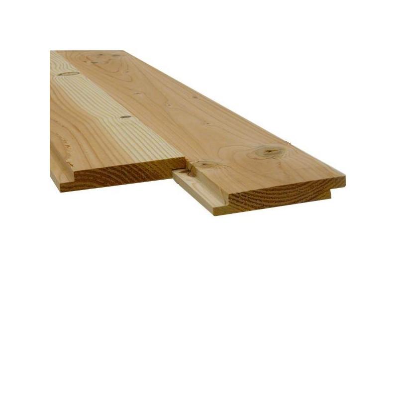 plancher sous toiture mi bois douglas 2nd choix 22x135 prix au m sud bois terrasse bois. Black Bedroom Furniture Sets. Home Design Ideas