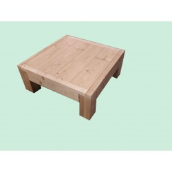 Table Basse Robuste en Bois Douglas Naturel Sec Raboté