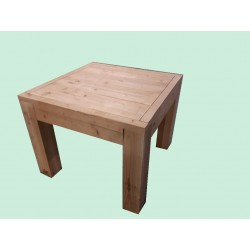 Table Haute Robuste en Bois Douglas Naturel Sec Raboté