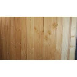 ► Lambris / Planche à emboîtement à Joints Creux 21x180 (21*180 mm) Douglas 1er Choix Prix / m²