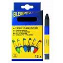 ▲ Boite de 12 craies forestières de marquage de couleur NOIR de marque Bleispitz