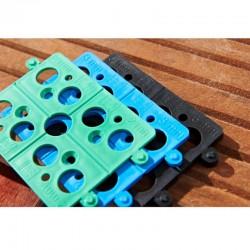 Cale Plate Sécable 5 mm noir