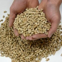 * Sac vendu à la palette SUD GRANULES de 15 kg de Granulés de Bois DIN + Enlèvement FR30120