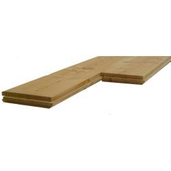 Plancher Double Face 19x135mm Douglas Naturel 2nd Choix en 3m