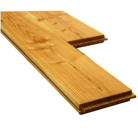 Plancher Double Face 26x125mm Douglas Naturel 2nd Choix 2.5m