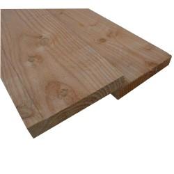 ◙ Planche / Volige Sèche à 22x150 ( scié à 23x155 ) Douglas Brut Naturel 4m