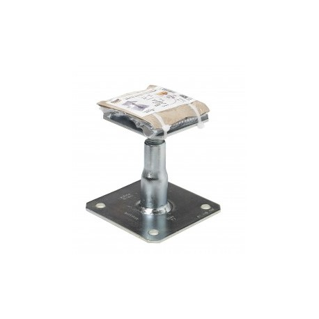 Kit Fix Pied de poteau réglable hauteur 100/150