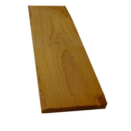 Planche / Volige Calibrée 18x200 Douglas Brut de sciage Naturel 3m